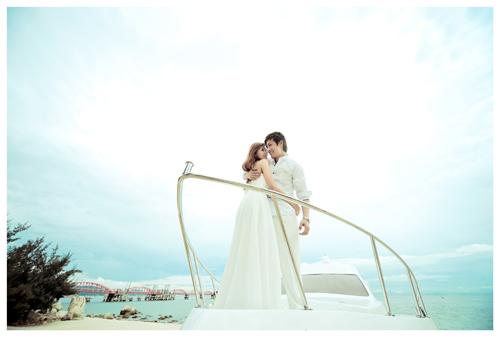 外景拍摄基地—深圳玫瑰海岸欧式婚礼教堂