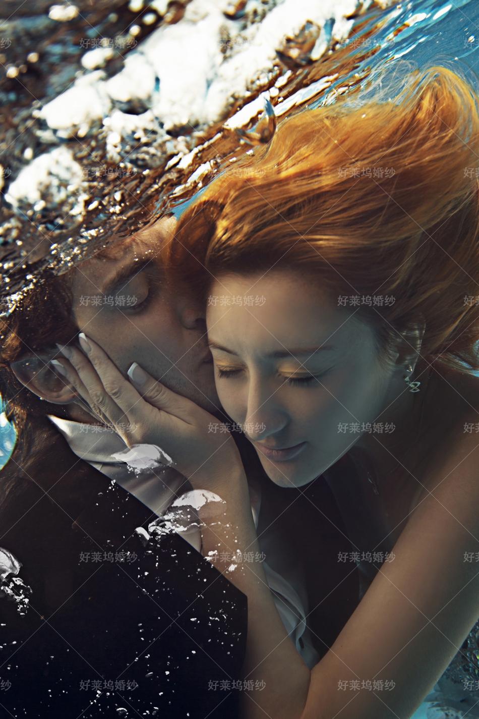 水下婚纱摄影,东莞婚纱摄影工作室