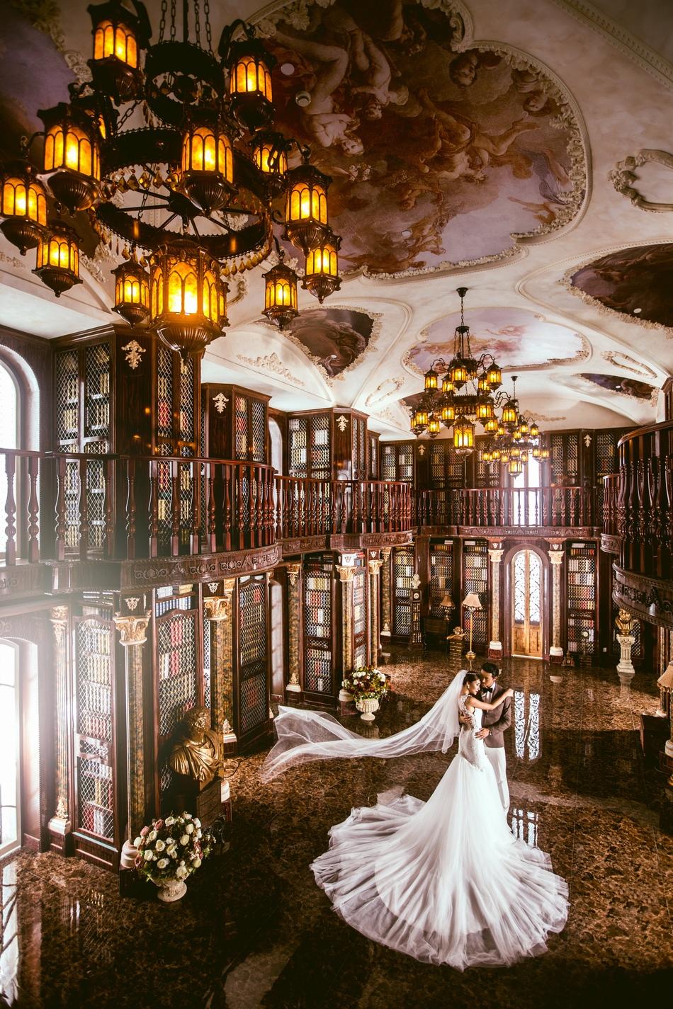 东莞好莱坞婚纱摄影,韩式宫廷系列婚纱照