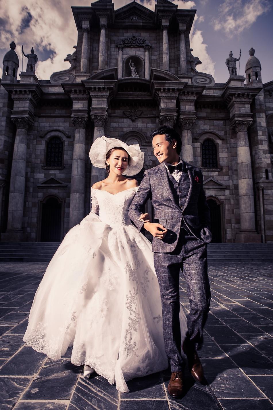 东莞韩式婚纱摄影系列,