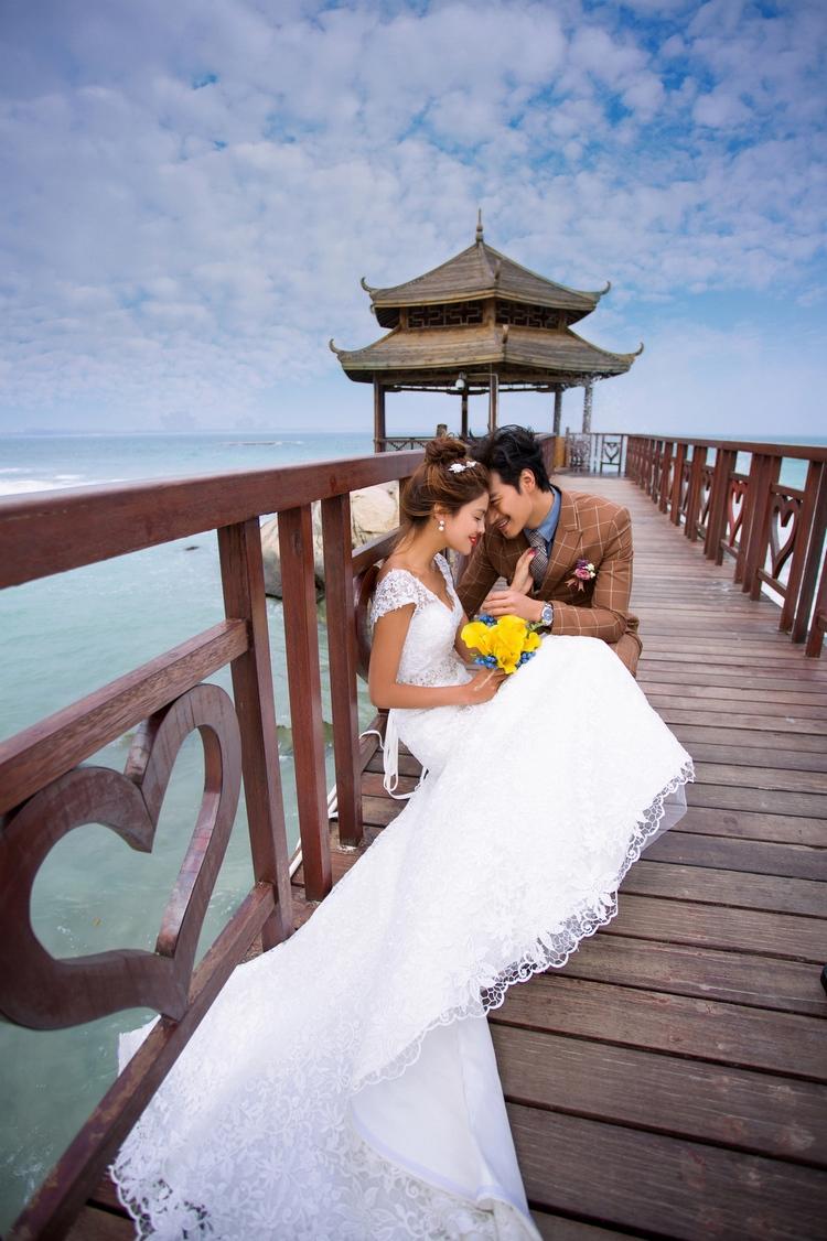 东莞海景婚纱摄影
