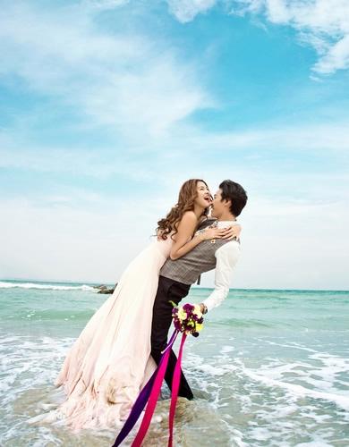 东莞好莱坞时尚海景婚纱摄影