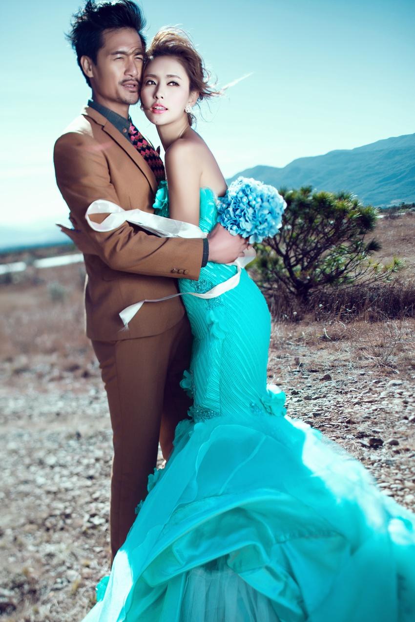 东莞海景婚纱照