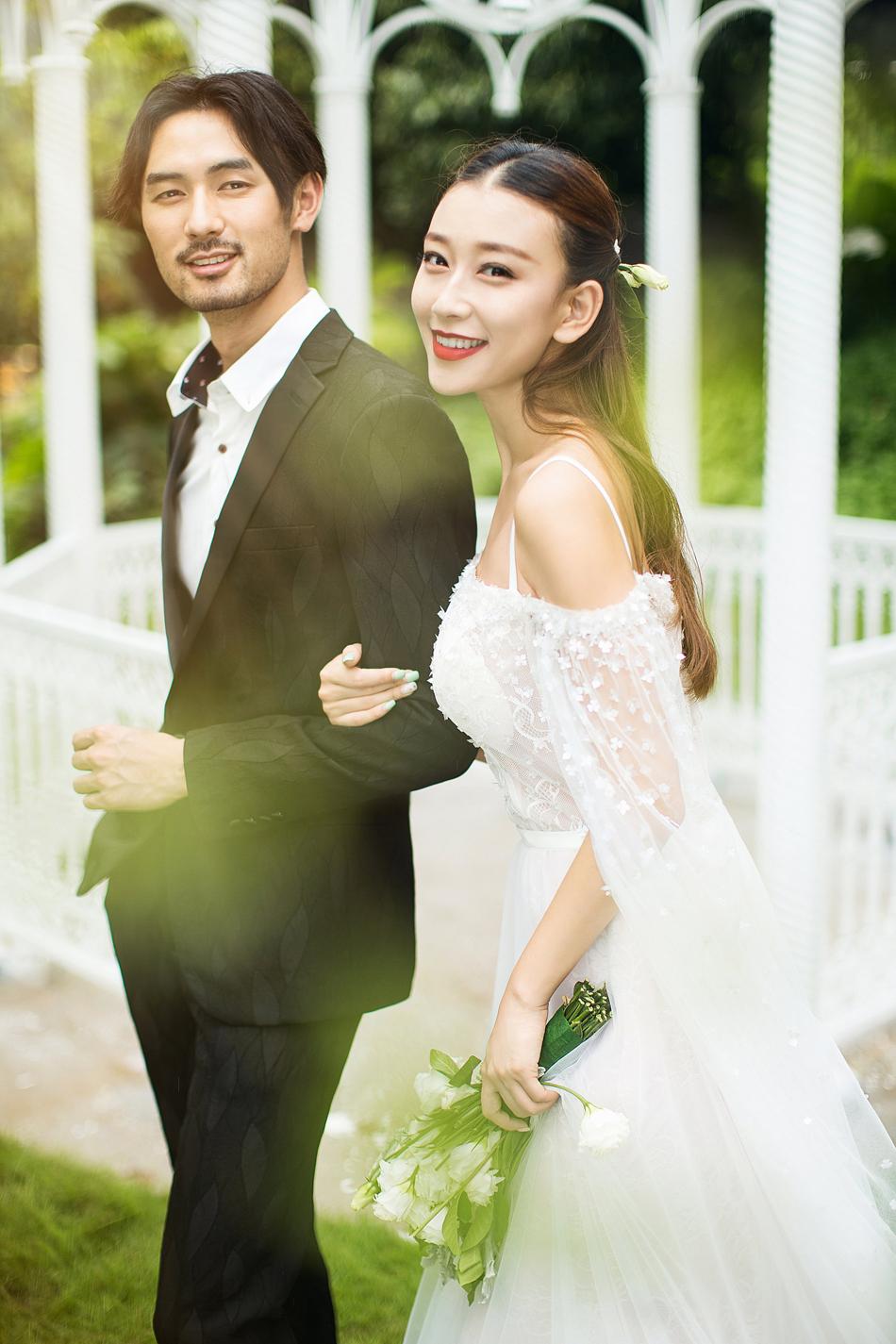 东莞婚纱摄影龙凤山庄