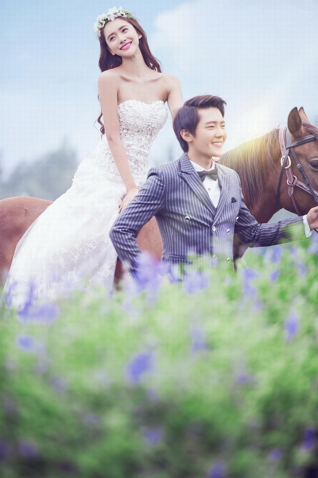 东莞好莱坞婚纱摄影,春暖花开