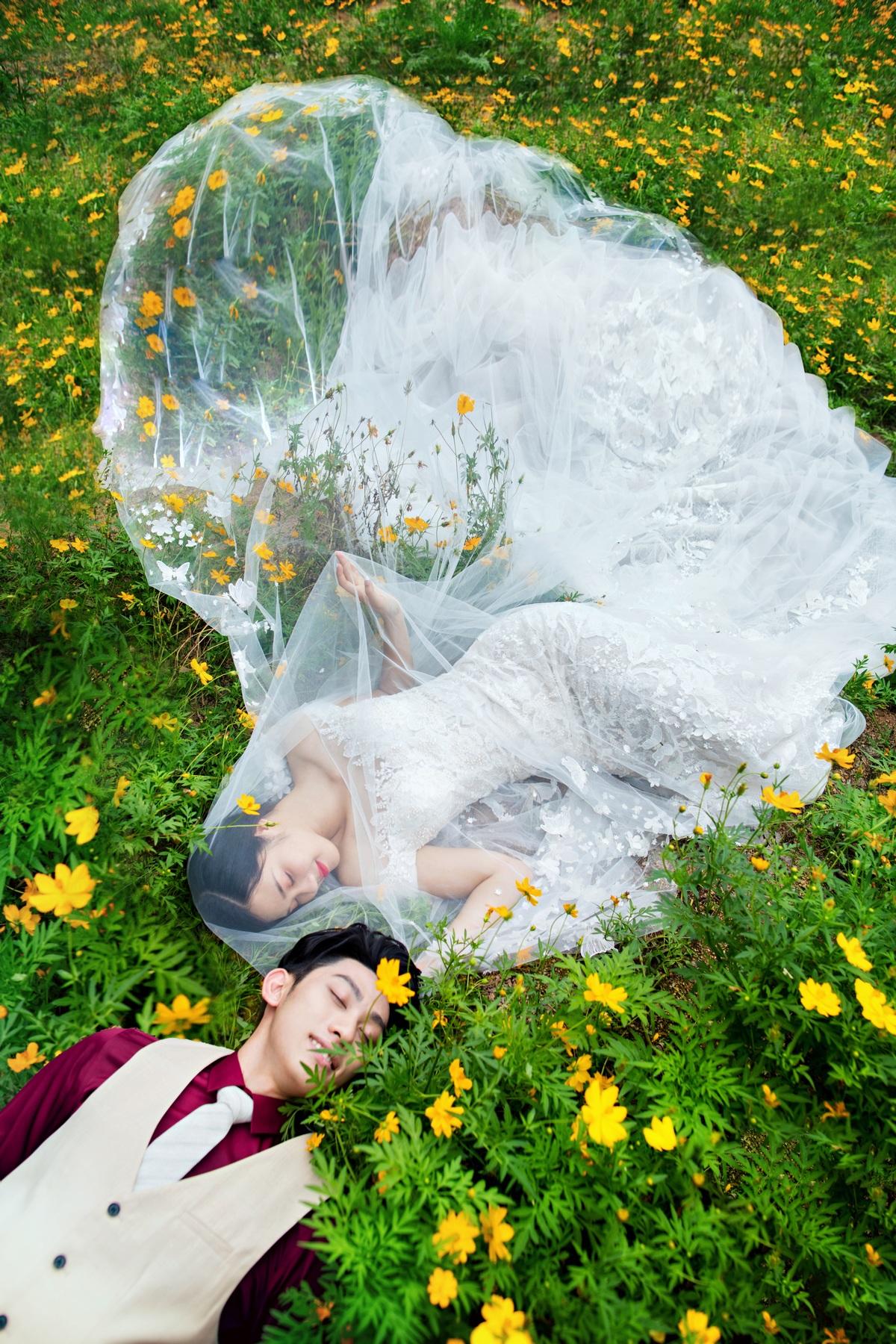 东莞婚纱摄影,好莱坞婚纱摄影纯白系列