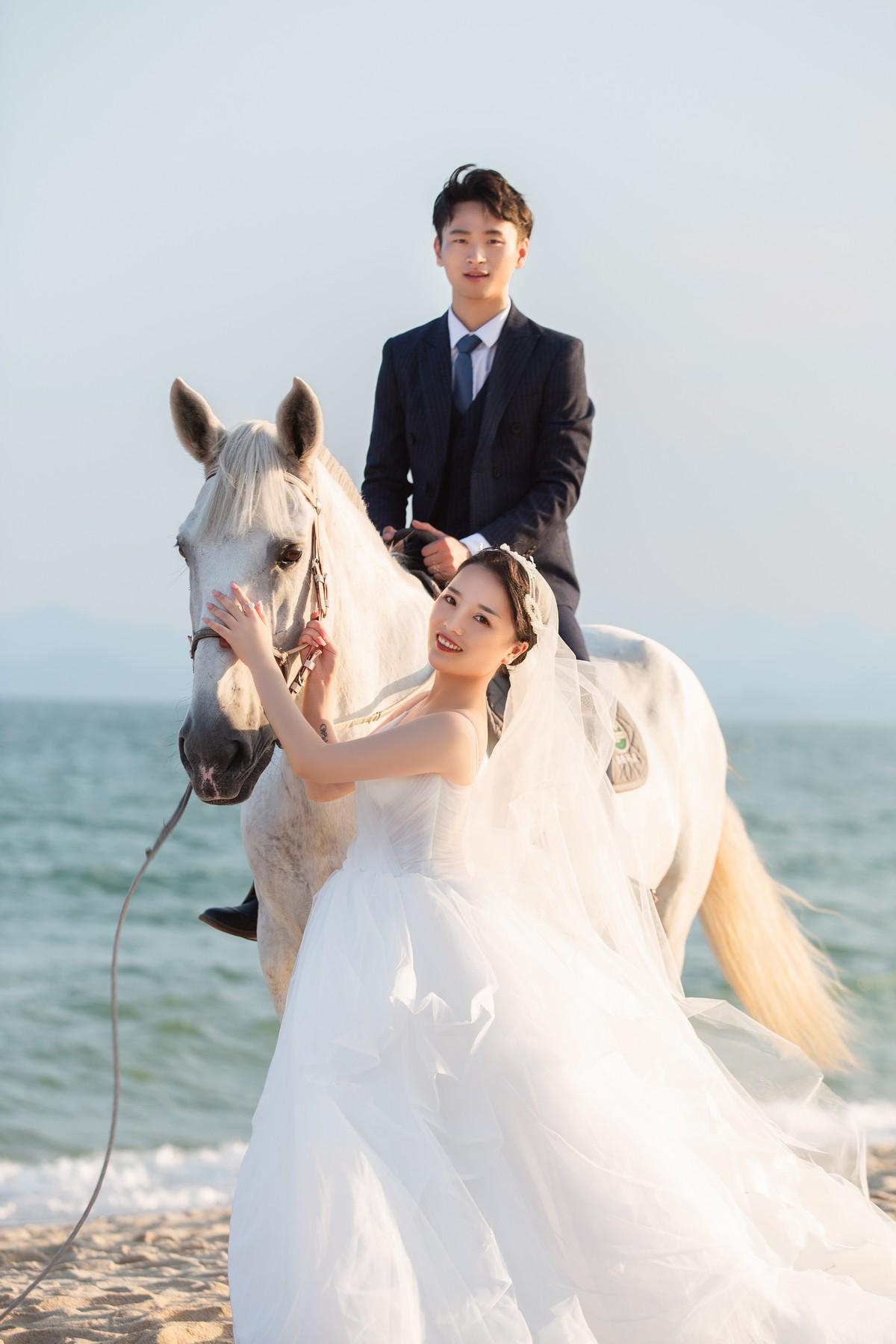 東莞創意海景婚紗照