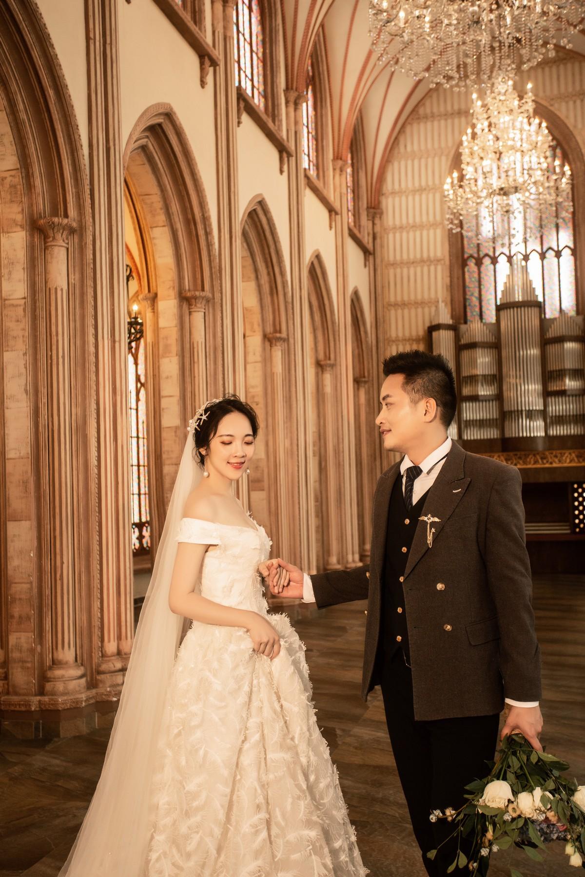 東莞宮廷式婚紗照