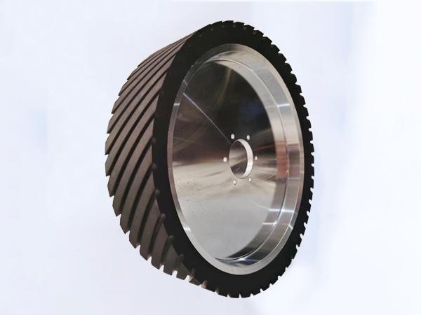 鋁芯橡膠輪350×100