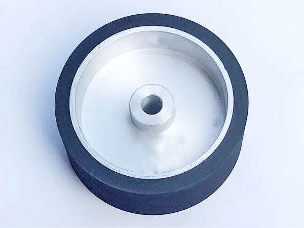 鋁芯橡膠輪230×100.50孔
