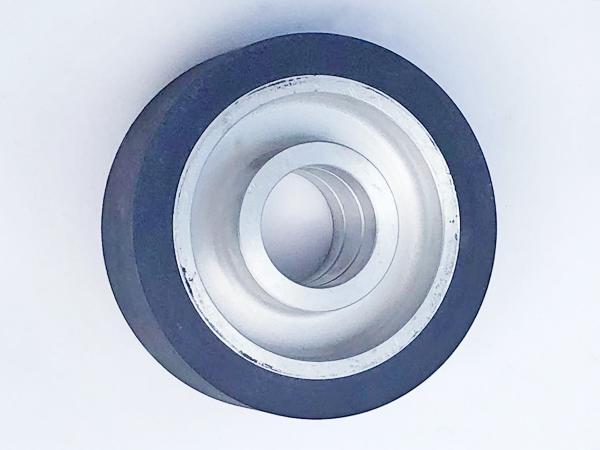 鋁芯橡膠輪150×50.47孔