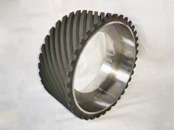 鋁芯橡膠輪300×50.165孔