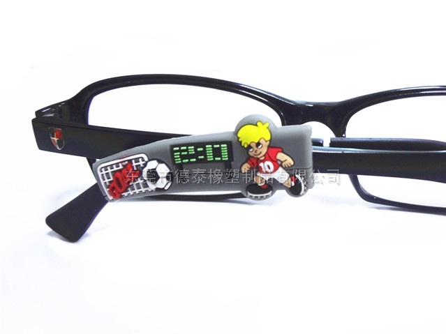 眼镜腿防滑套 镜框硅胶滴胶防滑套