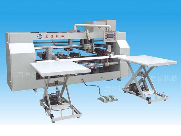 YXD-040 双伺服控制双片式钉箱机 3000MM