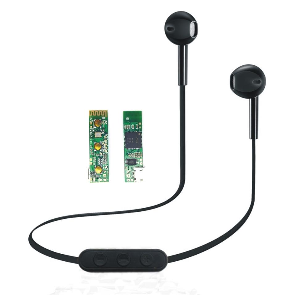 中控运动蓝牙耳机主板 PCBA D款 CSR8635