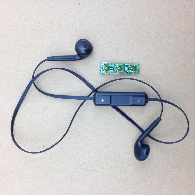 中控运动蓝牙耳机 蓝牙pcba 蓝牙主板 i款 csr8635