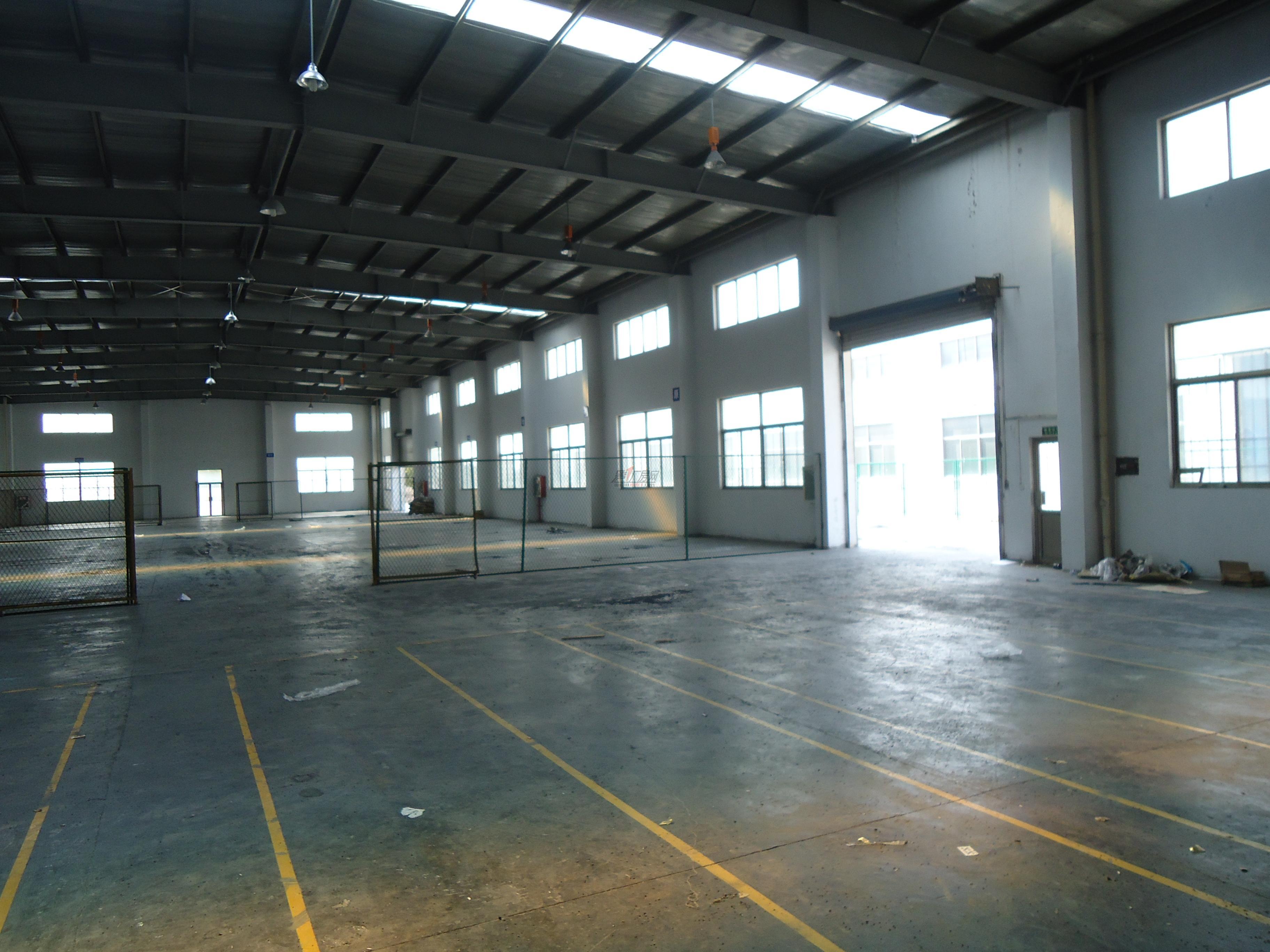 横沥高速口旁单一层钢结构2400平方厂房出租
