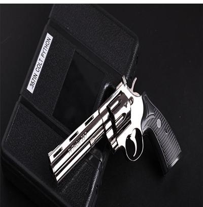 合金模型玩具槍模左輪357手槍