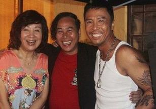甄子丹子在电影《特殊身份》中的纹身图片