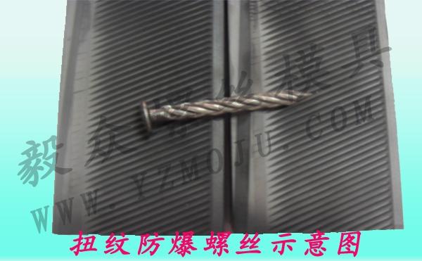 扭纹防爆螺丝效应图