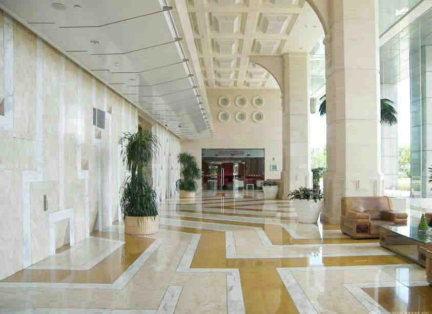 酒店走廊过道前台装修效果图