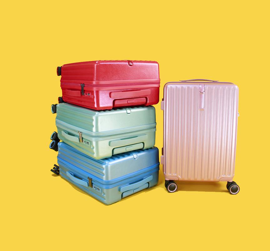 禮品定制PC箱福利28寸拉桿箱行李箱24寸旅行箱20寸登機箱萬向輪雙排飛機輪指紋密碼箱工廠直銷定制