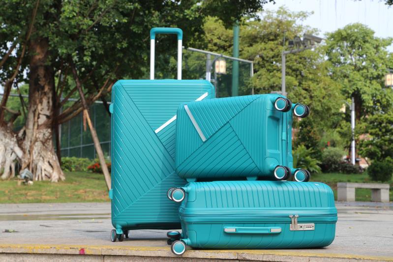 定制PP箱多顏色28寸拉桿箱行李箱24寸旅行箱20寸登機箱萬向輪打印LOGO