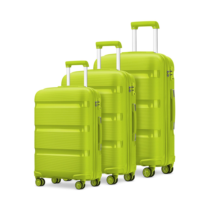 定制PP箱多顏色28寸拉桿箱行李箱24寸旅行箱20寸登機箱萬向輪防刮耐摔