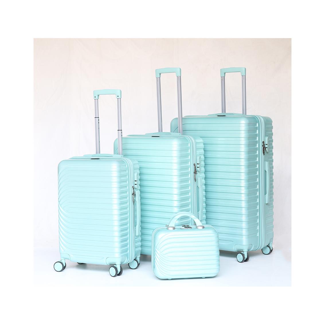 定制ABS箱化妝包多顏色28寸拉桿箱行李箱24寸旅行箱20寸登機箱萬向輪耐摔