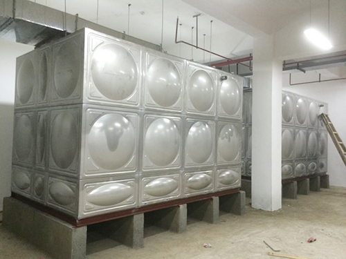 地下室不銹鋼方形水箱