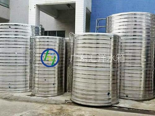 圆柱形立式不锈钢水箱
