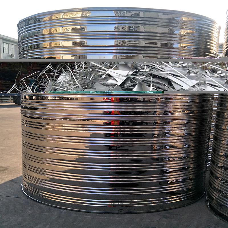 楼顶不锈钢生活水箱哪里有_汇洋不锈钢水箱_方型_工程专用_拼装式