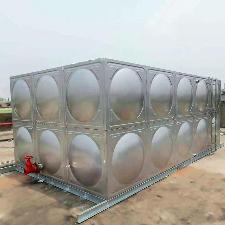 山頂_圓柱形不銹鋼生活水箱報價_匯洋不銹鋼水箱