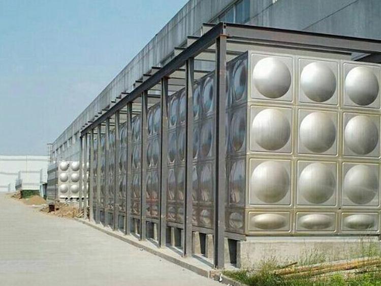 泵房不銹鋼生活水箱生產廠家_匯洋不銹鋼水箱_方形_立式_組合式