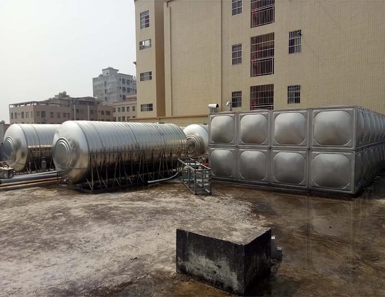 裝配式_山頂不銹鋼生活水箱公司_匯洋不銹鋼水箱