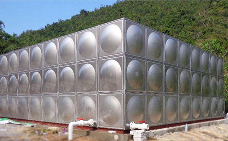 溫泉不銹鋼生活水箱報價_匯洋不銹鋼水箱_圓柱形_樓頂_高位_臥式