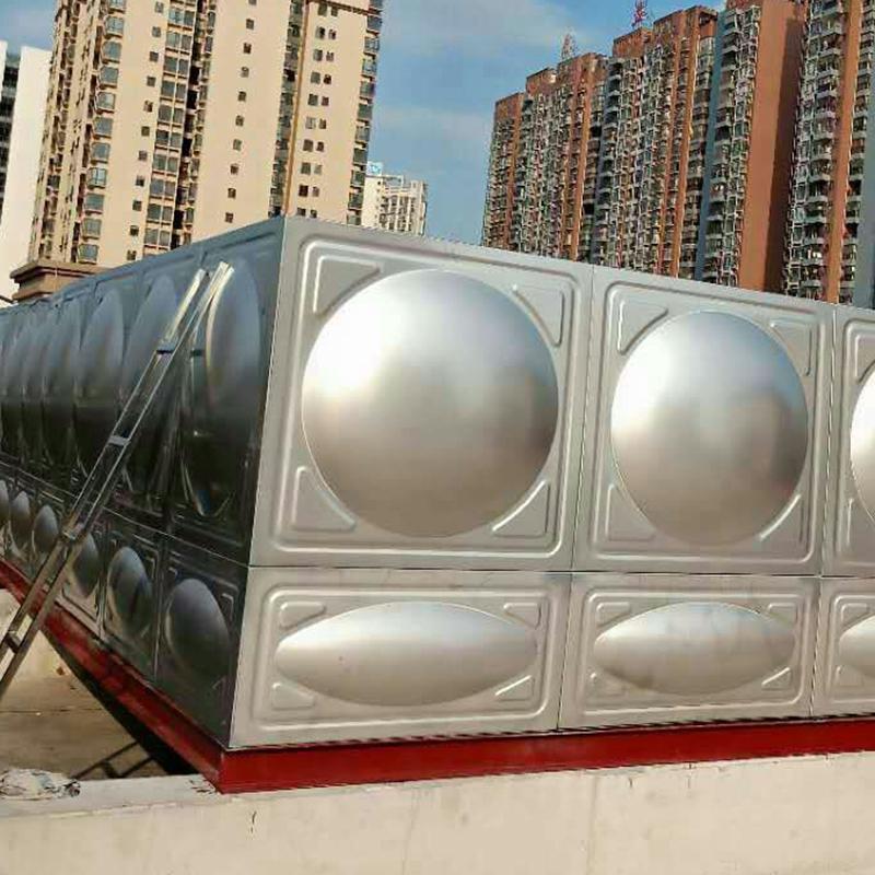 清遠拼裝組合式不銹鋼生活水箱_匯洋不銹鋼水箱_山頂_裝配式_工廠