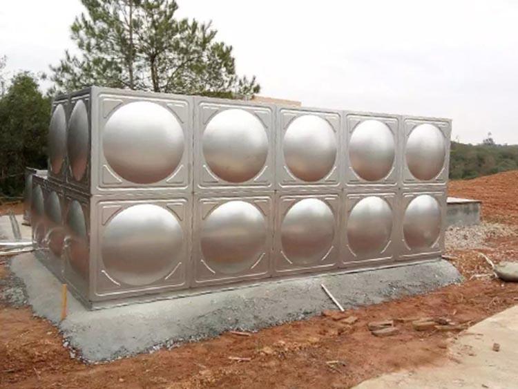 山西屋顶不锈钢生活水箱_汇洋不锈钢水箱_拼装组合式_矩形_温泉