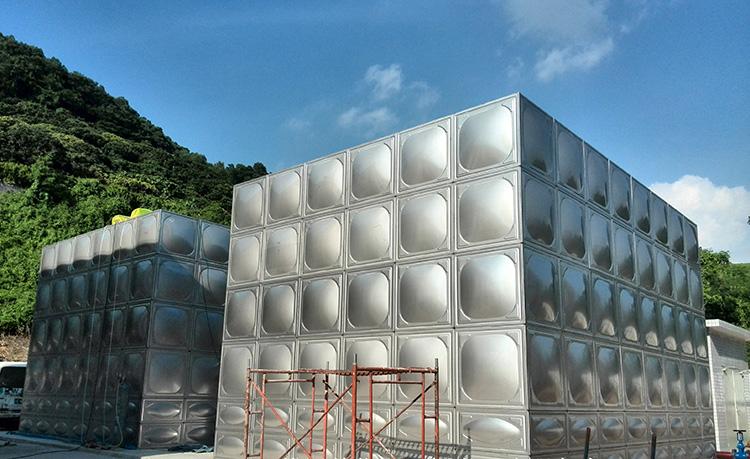 镀锌板_石排矩形不锈钢水箱订制_汇洋不锈钢水箱