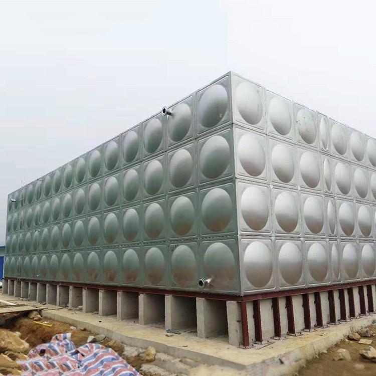 云南304不锈钢水箱生产厂家_汇洋不锈钢水箱_立式_箱泵一体化