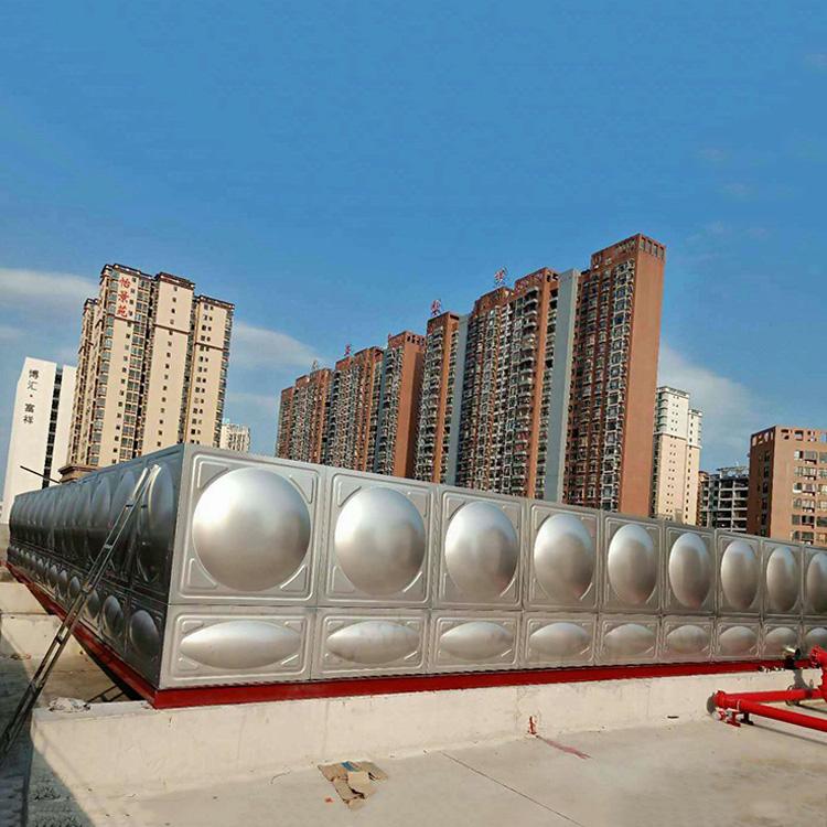 阳江圆形不锈钢水箱生产企业_汇洋不锈钢水箱_地埋式_组合式_保温
