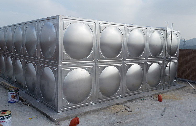 石排地埋式不銹鋼水箱定做_匯洋不銹鋼水箱_屋頂_鍍鋅板_拼裝式