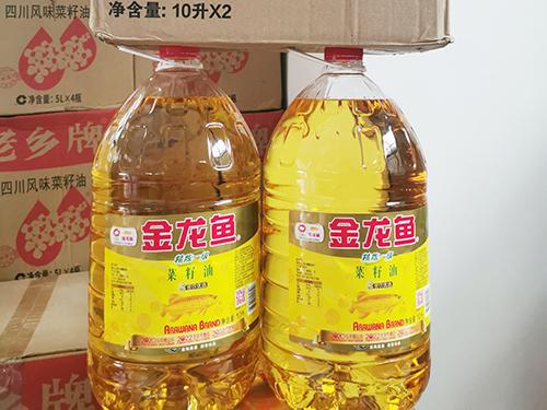 10L金龙鱼菜籽油
