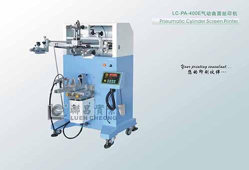 LC-PA-400E气动曲面丝印机