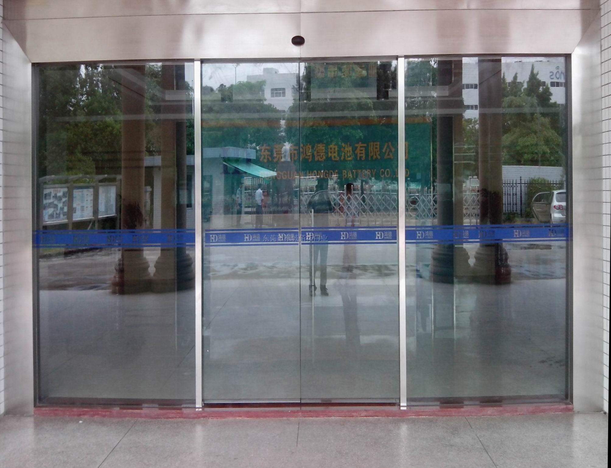 东莞电动感应自动玻璃门供应商