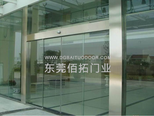 东莞市电动感应自动玻璃门安装维修