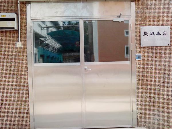 工厂车间不锈钢门