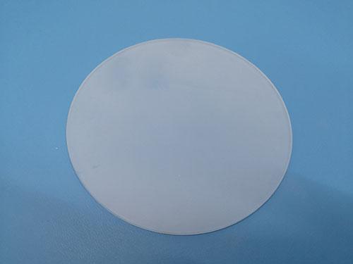 装饰品钢化玻璃订做_智宏玻璃_单面蒙砂_高温油墨_智能终端机