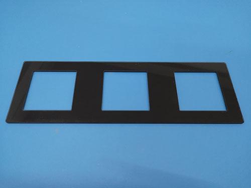 手機面板鋼化玻璃哪里生產_智宏玻璃_指紋鎖_特種_智能開關面板