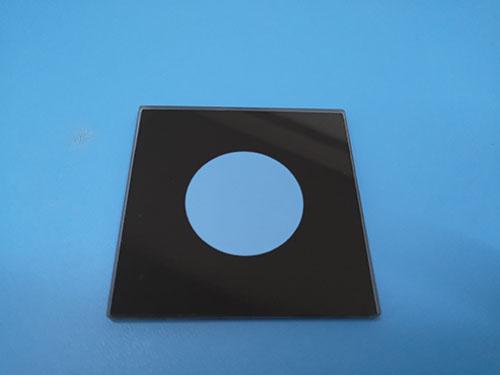 橢圓_鐘表面板鋼化玻璃定做_智宏玻璃